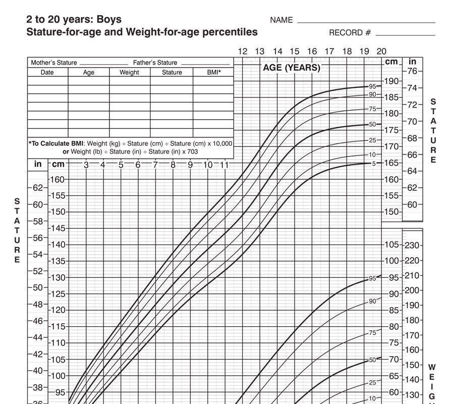 Boys Weight Chart Kenindlecomfortzone