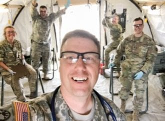 How Military Member and Seasons Medical Physician's Assistant, Travis Weiszhaar, Celebrates the 4th