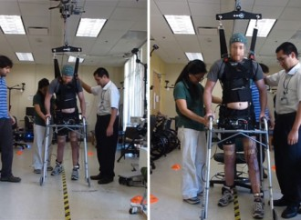 Paralyzed Man Walks Using Technology That Bypasses Spinal Cord